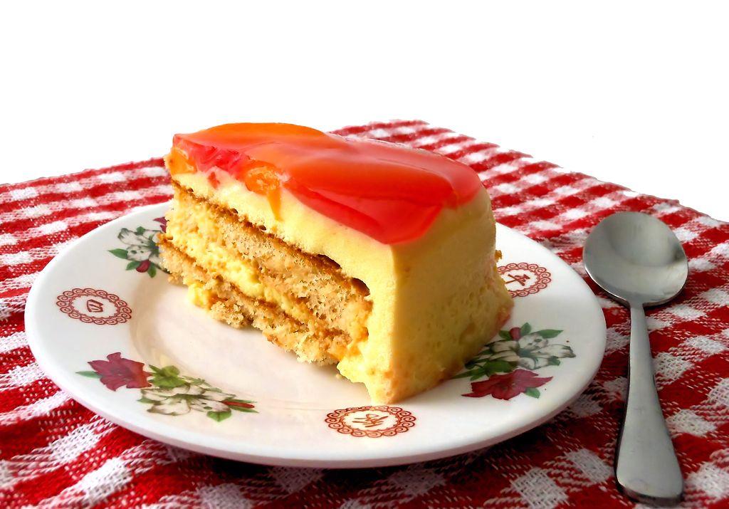 Torta helada de gelatina